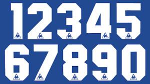 Le Coq Sportif Felt Chelsea Everton Football Shirt Soccer Numbers Heat Jersey
