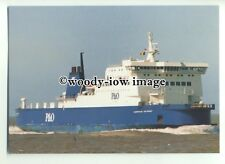 FE0631 - P&O Ferry - European Pathway , built 1991 - postcard