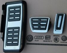 VW PASSAT b8 3g ORIGINAL R-Line Pedalset PEDALI PEDALE tappi poggiapiedi pilastro
