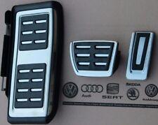 VW Passat B8 3G original R-Line Pedalset Pedale Pedalkappen Fußstütze Stütze
