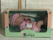 "Berenguer Boutique La Newborn - Real Girl 15"" Baby ~ Mib (A396)"