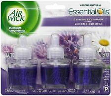 Air Wick Scented Oil Refills, Lavender & Chamomile, (3 Pack)