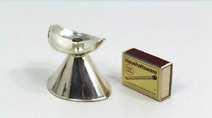 kleiner 925 Sterling Silber Kerzenleuchter Leuchter Otto Wolter Schwäbisch Gmünd