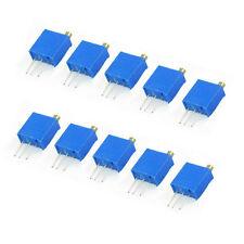 10pcs 3296W-502 5K ohm 3296W Trimmer Potentiometer 103 10kohm Multi-turn Precis