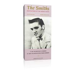 The Smiths 'Shoplifters of the World Unite' 20x10 inches Framed Canvas Print