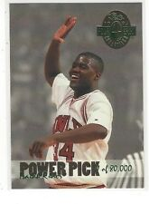 1993 CLASSIC 4 FOUR-SPORT DRAFT PICKS POWER PICKS ISAIAH RIDER #PP4 - UNLV