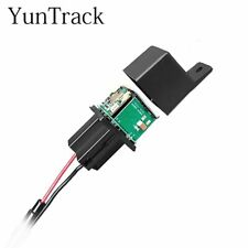 GPS Car Tracker Real Time Tracking Relay Hide Locator Remote Oil Cut Stop 10-40V