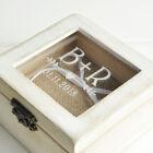 Personalized Wedding Ring Box Engagement box Wedding Glass Ring Bearer Box
