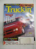 TRUCKIN' MAGAZINE FEBRUARY 2001 DIESEL TORQUE TRICKS TRANSMISSION SWAP BASICS