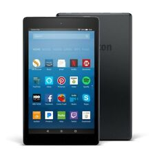 "Amazon Kindle Fire HD 8 Tablet - 8"" HD Display - 32 GB - Black - 7th Generation"