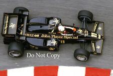 Elio De Angelis JPS Lotus 95T Monaco Grand Prix 1984 Photograph 1