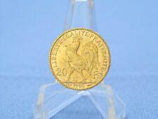 Frankreich 20 Francs 1906 Hahn Rooster * 6,45 Gramm 900 Gold * ss-vz