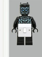 Light switch surround sticker THE BLACK PANTHER LEGO - Marvel