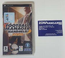 Football manager handheld 2009, Sony PSP, PAL-ESP. Nuevo a estrenar.