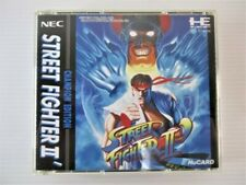Street Fighter 2 Dash Capcom PC Engine Used Action Japan Version Free Shipping