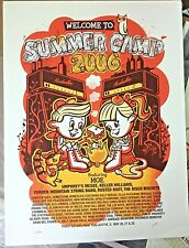 Rare Moe. 2006 Summer Camp Poster S/N Le #/600 Umphreys Mcgee Ymsb Wilco