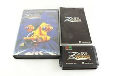 Megadrive Game Zero Wing Complete Japan Import Genesis