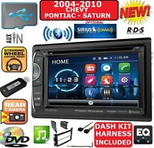 04-10 CHEVY PONTIAC SATURN TOUCHSCREEN BLUETOOTH USB CD/DVD/AUX STEREO PKG