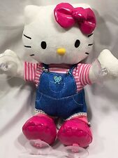 hello kitty musical-window sticker plush