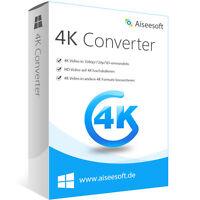4k Video Converter WIN Aiseesoft dt.Vollversion-lebenslange Lizenz Download