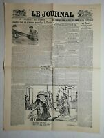 N1043 La Une Du Journal Le journal 29 octobre 1922 surprise la crise italienne