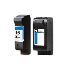 HP 15 & 78 Druckerpatrone f. Deskjet 920 920C HP15 HP78
