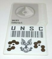 Halo Reach Catherine Halsey Security Badge Pass Limited Edition Xbox 360 UNSC