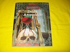 DEATH ASCENDANT RAVENLOFT DUNGEONS & DRAGONS AD&D TSR 9526 - 2 WITH MAP