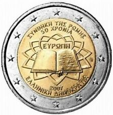 Grecia   2€ 2007 Trattato di Roma  ToR  FDC