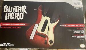 Guitar Hero 5 Wii Guitar Controller With Box