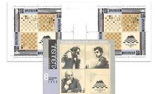Armenia 1996 Outstanding Grandmasters World Chess Champions Stamp Booklet MUH