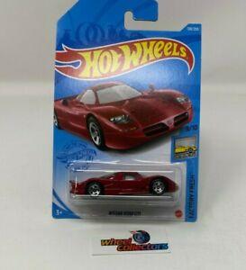 Nissan R390 GTI #138 * Burgundy * 2021 Hot Wheels Case N * G19