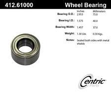 Wheel Bearing-C-TEK Bearings Front,Rear Centric 412.61000E