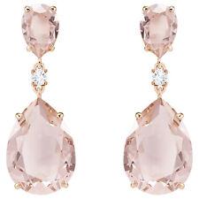 Swarovski 5424361 Vintage Drop Pierced Earrings,Pink, Rose Gold Plating, RRP$199