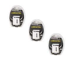 3X Batteries for Olympus FE-220 FE-230 FE-240 FE-250 FE-280 FE-290 FE-300 FE-320