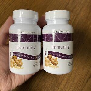 Lot of 2 NIKKEN Kenzen Immunity Immune System Support 60 Capsules EX 5/22