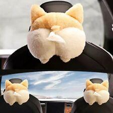 Cute Welsh Corgi Butt Cartoon Animals Tissue Holder Hanging Pouch For Car Home