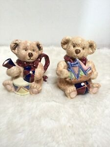 Teddy Creamer Bear Sugar Set Stoneware - Cream & Sugar