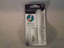 NAILENE FRENCH TIP Nails 2 GO 61022 PEARL WHITE Tip Pen + Topcoat             16