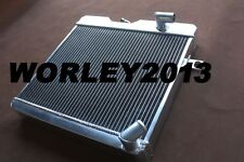 56 mm custom aluminum radiator for ALFA ROMEO GT 1972-1977 Manual