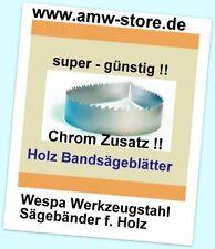 3 Stück Bandsägeblatt 1400x6x0,65mm Bandsägeblatt Westfalia 250W,Atika BS205 - K