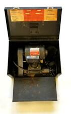 Dumore 5-021 Tool Post Lathe Grinder 1/2 HP Machinist  w/ Box & Accessories