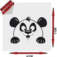 Sticker Adesivo Decal Panda Kawaii Cute Bambù Animal Tuning Auto Moto