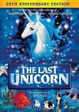 The Last Unicorn (DVD, 2007, Canadian 25th Anniversary Edition) Brand New