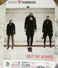 Linkin Park Dead By Sunrise Out of Ashes Taiwan  Poster (Chester Bennington)