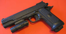 Quality Large Airsoft Spring Pistol Warrier P-355E with Tactical Flashlight
