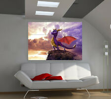 Spyro The Dragon large giant games poster print photo mural wall art ii199