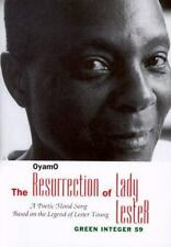 The Resurrection of Lady Lester: A Poetic Mood Song Based on the Legend of