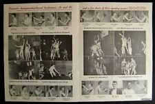 GENE MAUCH 1943 @ 18-YEAR FREMONT HIGH SCHOOL PROGRAM BROOKLYN DODGERS PHILLIES