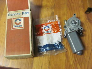 NOS OEM GM Rear Door Power Window Motor Impala SS Caprice 22094420 22138767